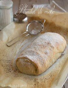 Strudel di mele con pasta matta la cucina di monica torte pasta strudel e apple strudel - La cucina di monica ...