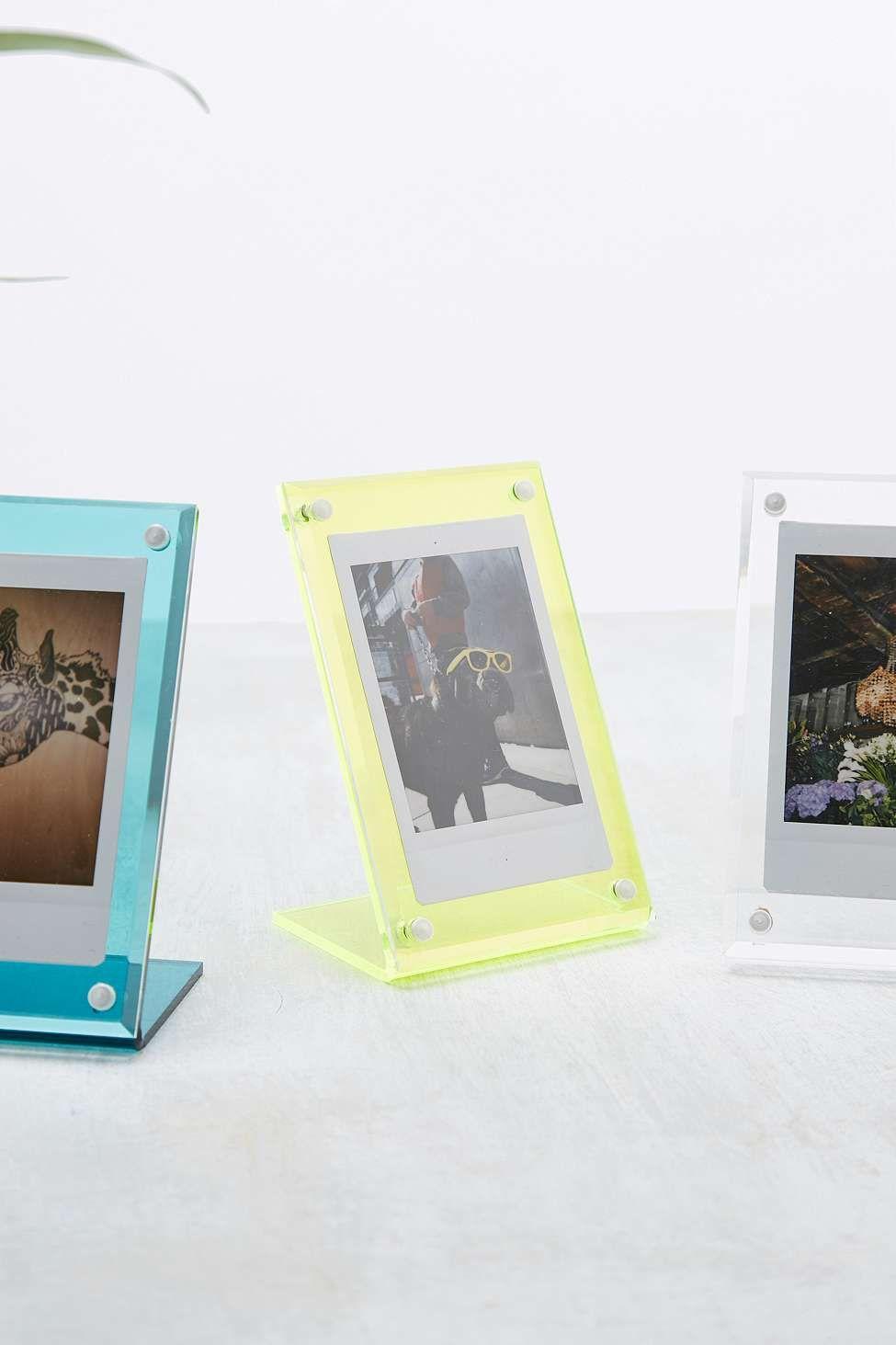 Kleiner Bilderrahmen aus Acryl | Kleine bilderrahmen, Bilderrahmen ...