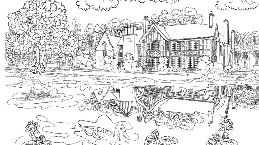 Travelling colouring book for grown-ups takes you around the world ...