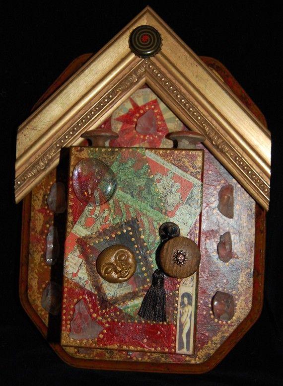Art Goddess Shrine by Tink by tinkwitch on Etsy, $129.00