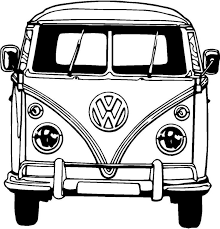 Resultado De Imagen Para Dibujos Camioneta Combi Volkswagen Dibujos De Coches Camioneta Dibujo Furgonetas Vw