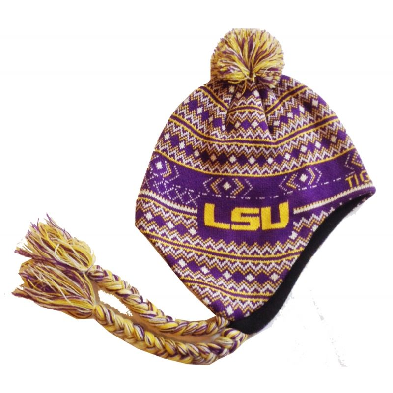 Ski Cap - Louisiana State University  24.99 Our Norwegian style hat now  comes in purple with bf3baf7de9e