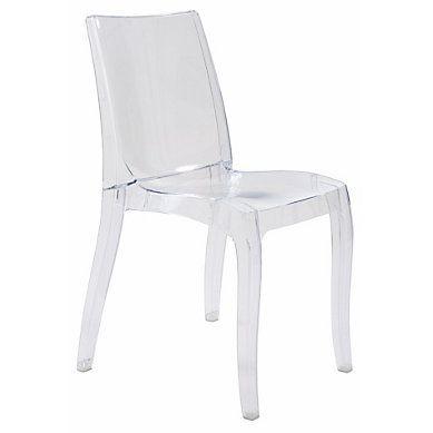 Chaise Cristal Transparent Chaise De Salle A Manger Fauteuil De