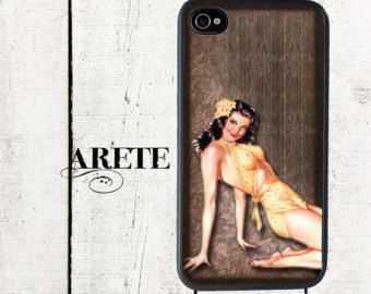 iphone 6 case Vintage Bee iPhone 4 Case iPhone 5 Case by Arete