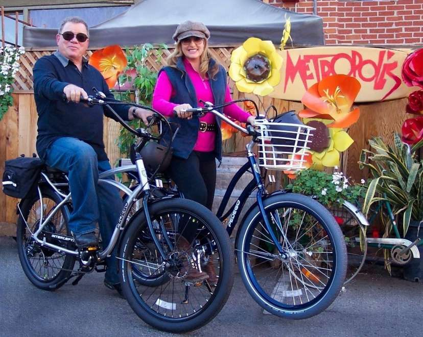 This Is An Experience Picture Yourself In The Picture This Is What Power Assist Is All About Larinpaul429 Gmail Com Bike Shatner Bike Humor