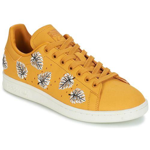 Adidas Originals STAN SMITH W Baskets Basses Jaune pas cher ...