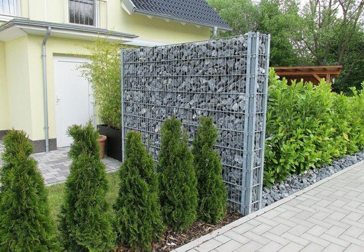 Gaviones y muros de alambre y piedras - 63 diseños -