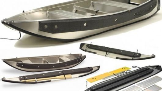 Portable Aluminum Boats : Instaboat has added a second canoe to its portable
