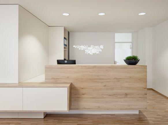 Theke, Rezeption, Holz, Glas, Wandgestaltung | Proyectos in ...