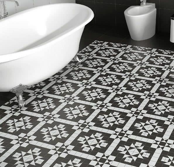 Cool Black And White Bathroom Floor Tiles Kalafrana Ceramics Door Handles Collection Olytizonderlifede