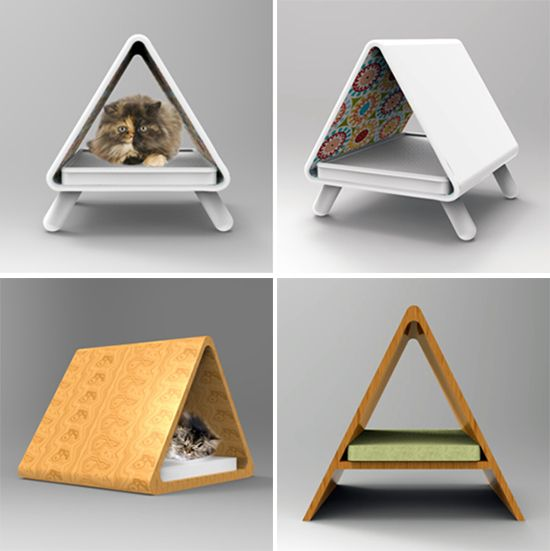 Modern Cat Furniture Concepts From Joshua Thorpe