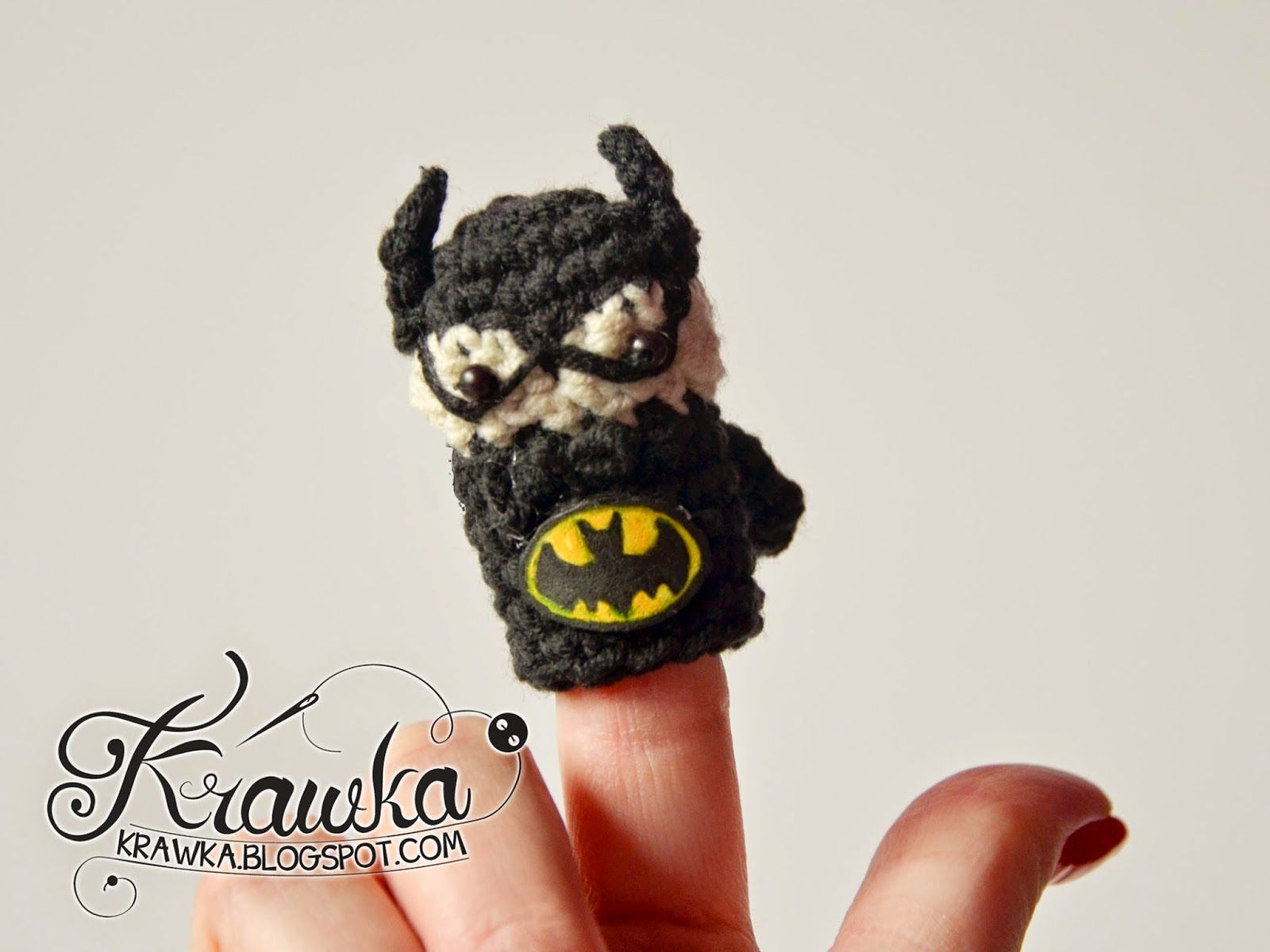 Krawka: Cute set of crochet finger puppets with FREE patterns ...