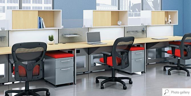 the matrix furniture system by ais  this furniture system is idea for integrating off