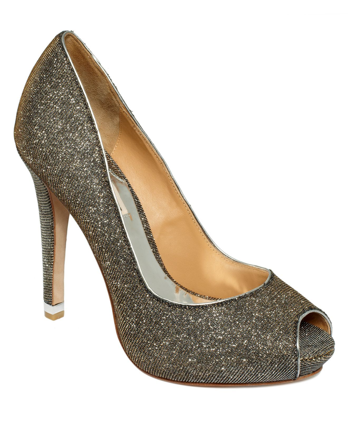 245 bucks   Badgley Mischka Shoes, Humbie IV Evening Pumps - Evening & Bridal - Shoes - Macy's