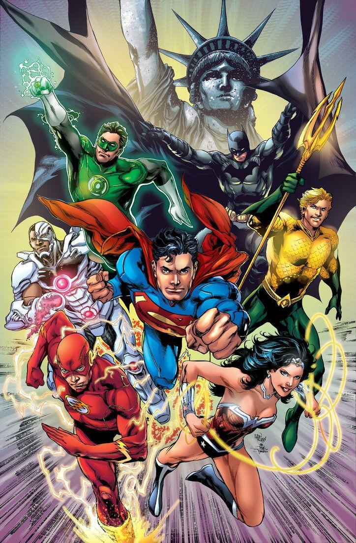 Justice League Fan Art. (JLA) By Adrianocastro