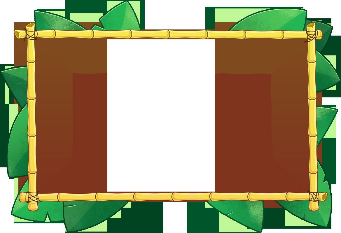 tiki border vector bamboo tiki bo brainstorming school fair rh pinterest com