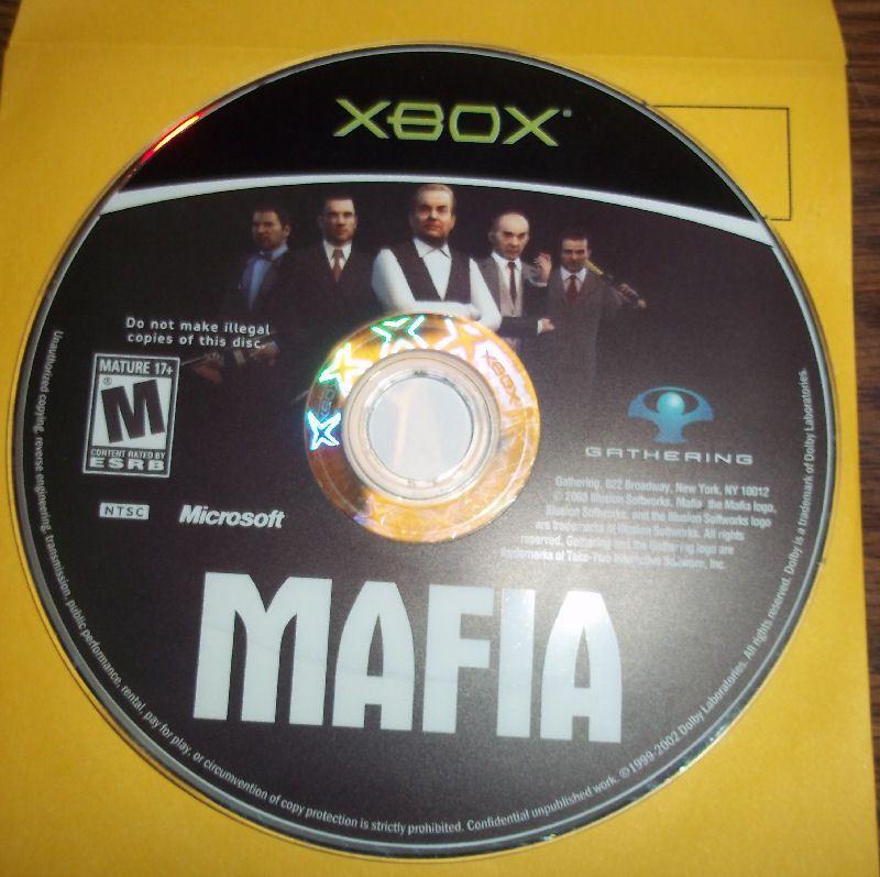 Mafia Original Xbox Game Game Only Gamestop Warranty