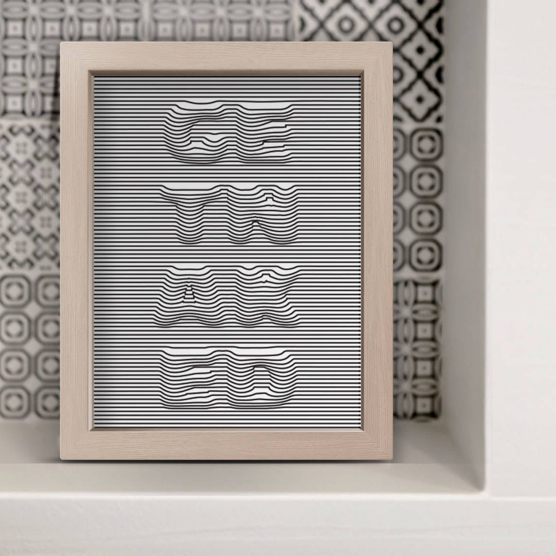 Get Naked Bathroom Sign Print On Canvas 3D Illusion Toilet Sign Shower Art Modern Print Canvas Print Restroom Picture