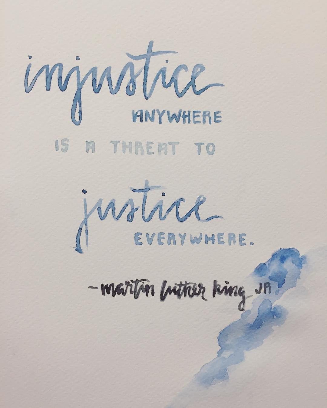 Injustice Anywhere Is A Threat To Justice Everywhere Injustice Quotes Fancy Words Words