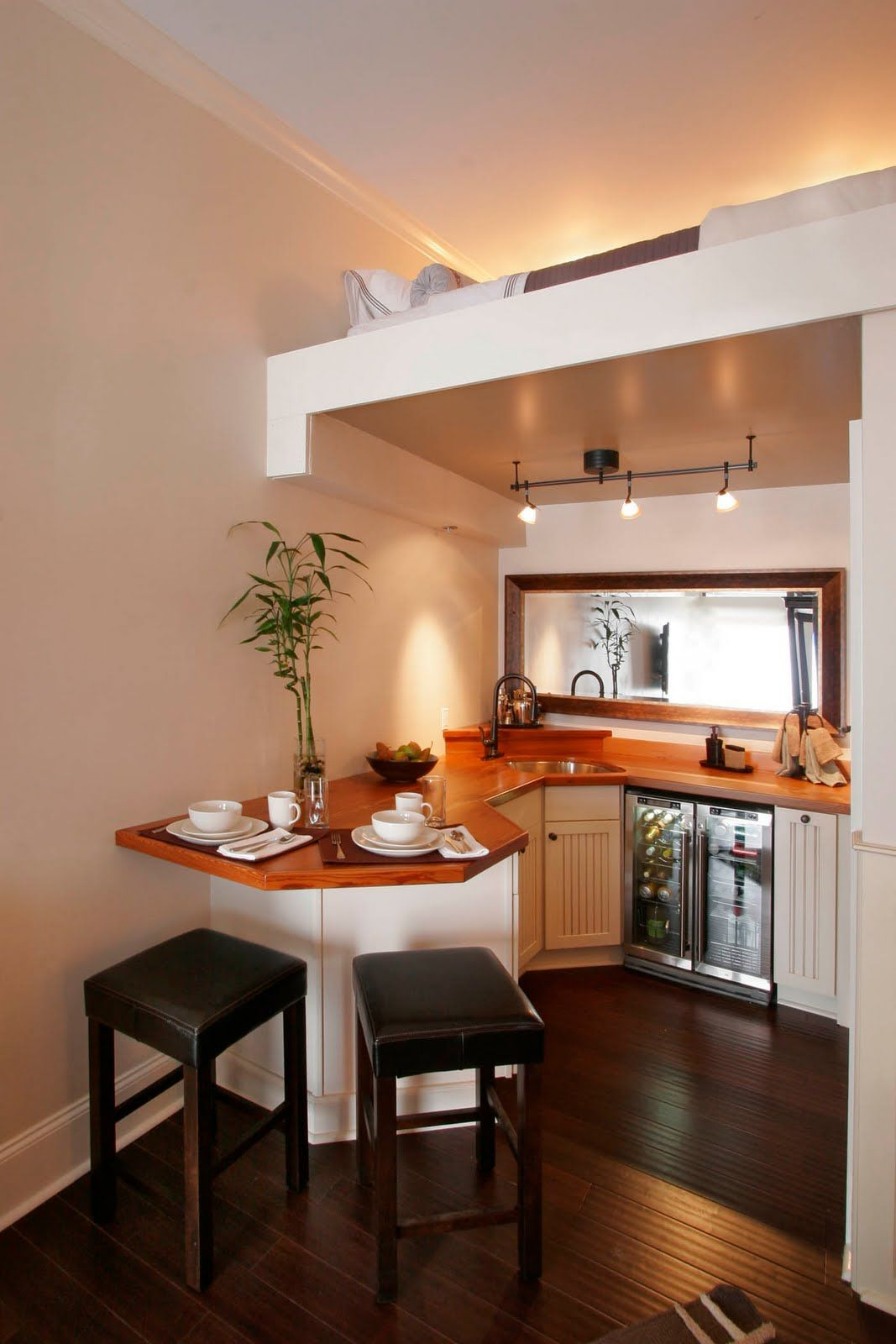 Small Living Kitchen Tiny In 2018 Pinterest Maison Petite