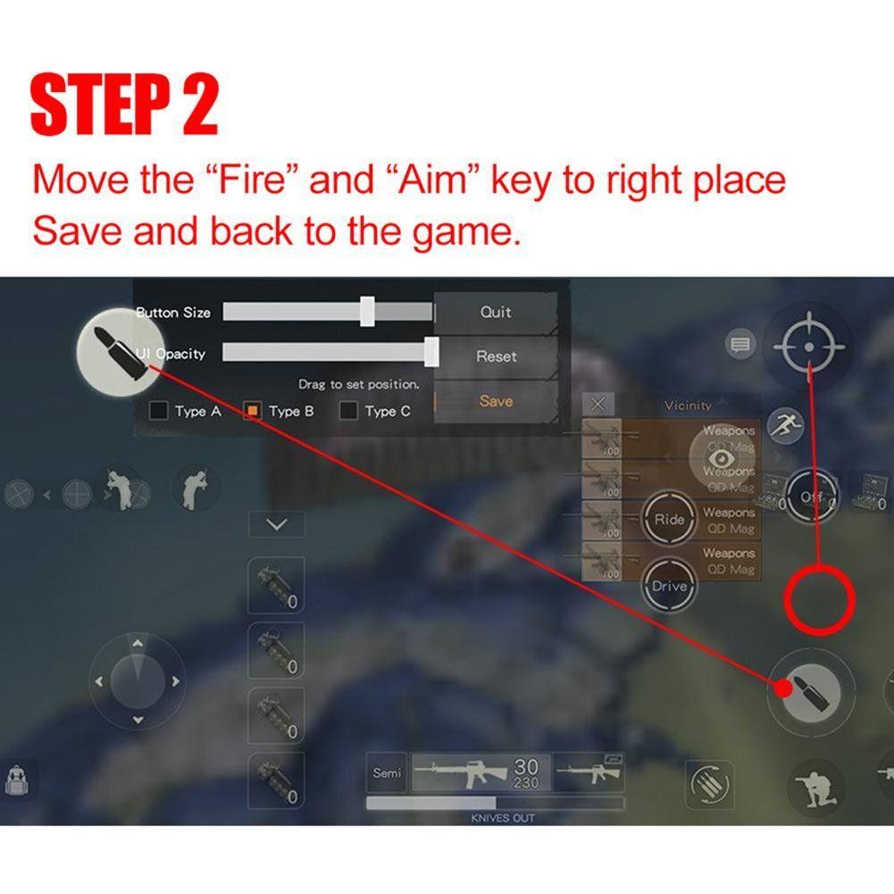 Teepao Mobile Game Controller[Upgrade Version] Sensitive
