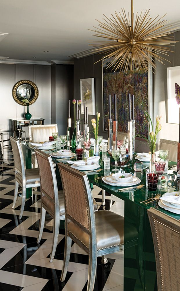 Editors\u0027 Picks Beautiful Bold Decorating Ideas Interiors, Room - Beautiful Dining Rooms