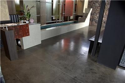 black stained concrete floors. Gray with black  Concrete Floor Pinterest Stains and stain