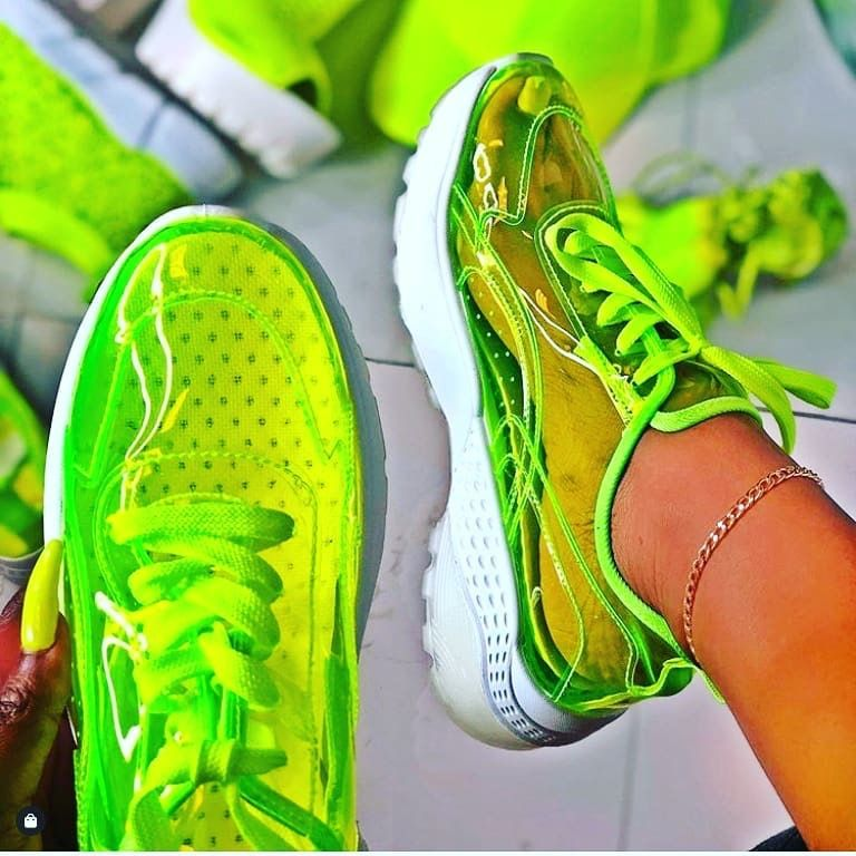 PINTEREST PRINCESSMOODS Lime green shoes, Sneakers