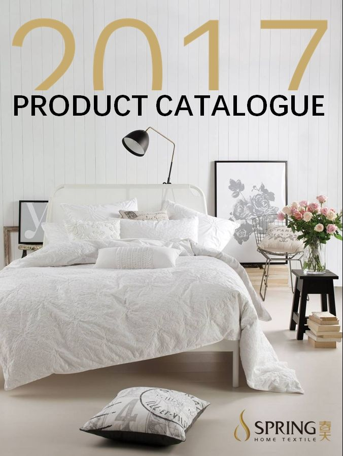 Spring Hometextile Product Catalogue 2017 Furniture Catalog