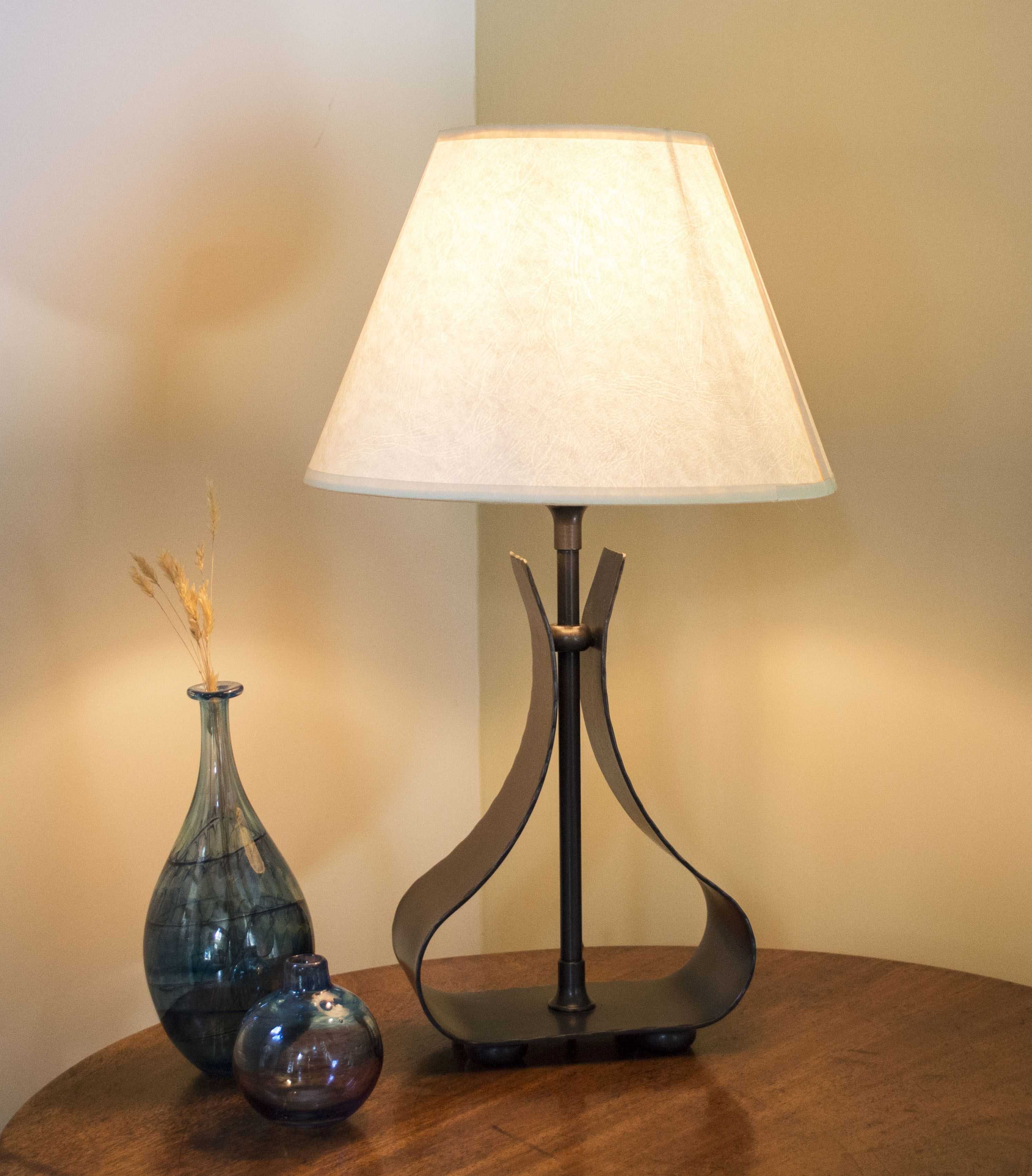 Howbrook Wrought Iron Table Lamp Contemporary Stairs Contemporary House Contemporary Decor