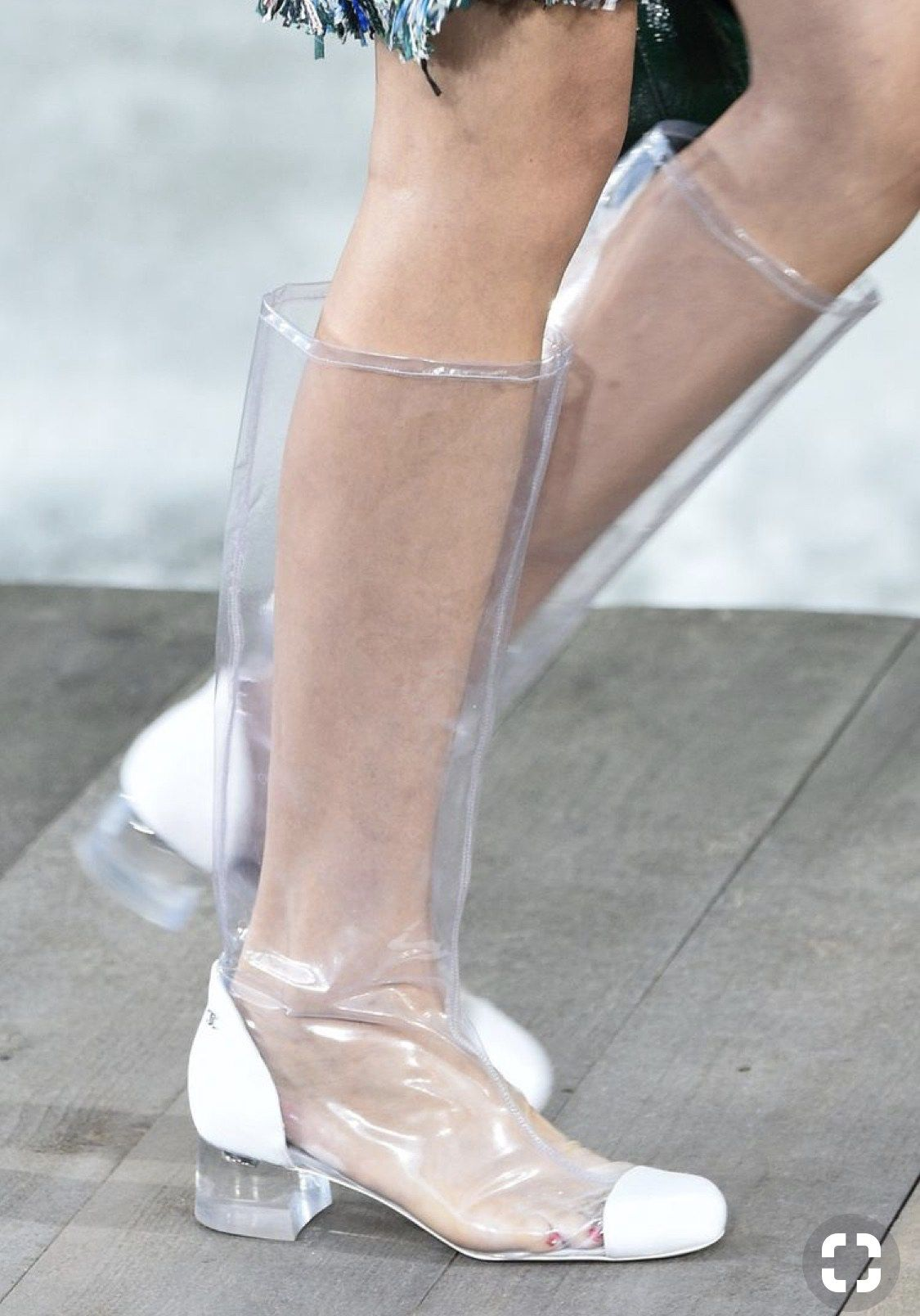 e905ff89f5 Chanel clear shoes, Who did Design the Very First Clear Transparent Shoes?  ~ alley girl