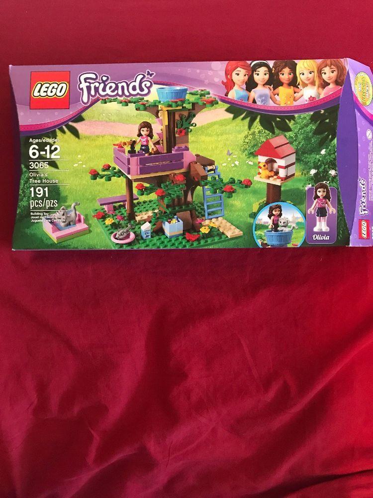 Lego Friends Olivias Tree House 3065 Lego Love Pinterest