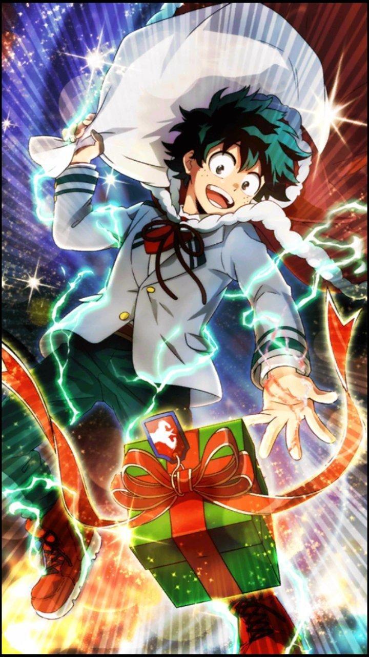 Smash Rising Christmas Deku (With images) Anime
