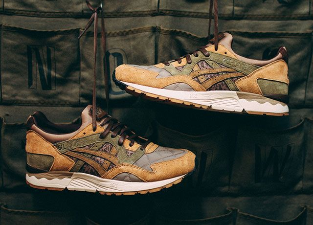 Kicks Lab X Asics Gel Lyte V Phys Ed By Guy Overboard