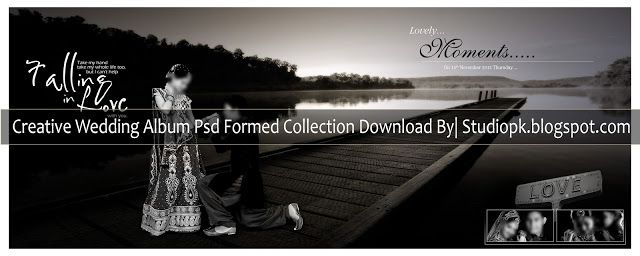 Creative Wedding Al Psd Formed Collection Design Photo Editing