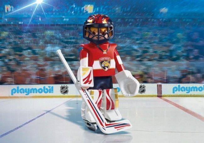 Playmobil Hockey LNH:Gardien des Florida Panthers - Castello   Jeux et Jouets