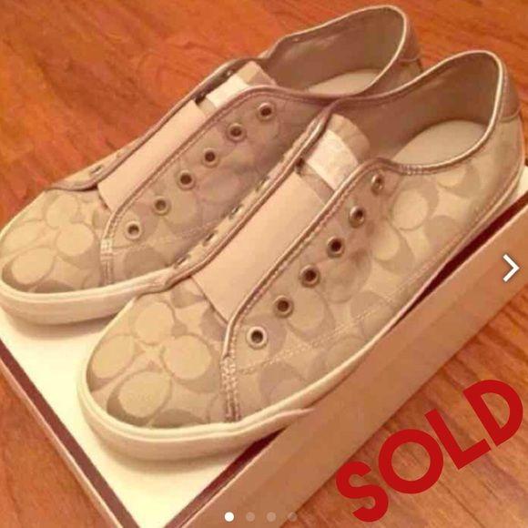 2474029609c4b ... greece coach briar sneakers size 11 women coach briar sneakers size 11  women. good condition
