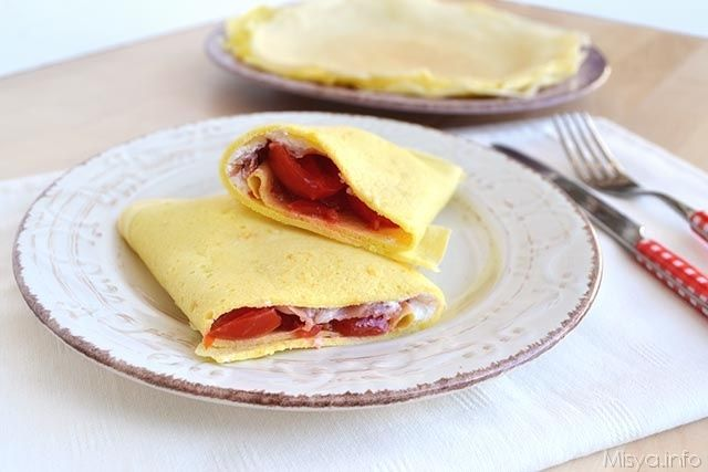 Crepes ricetta healthy