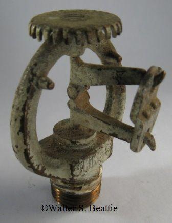 1961 Viking Upright Sprinkler Head | fire sprinklers | Fire