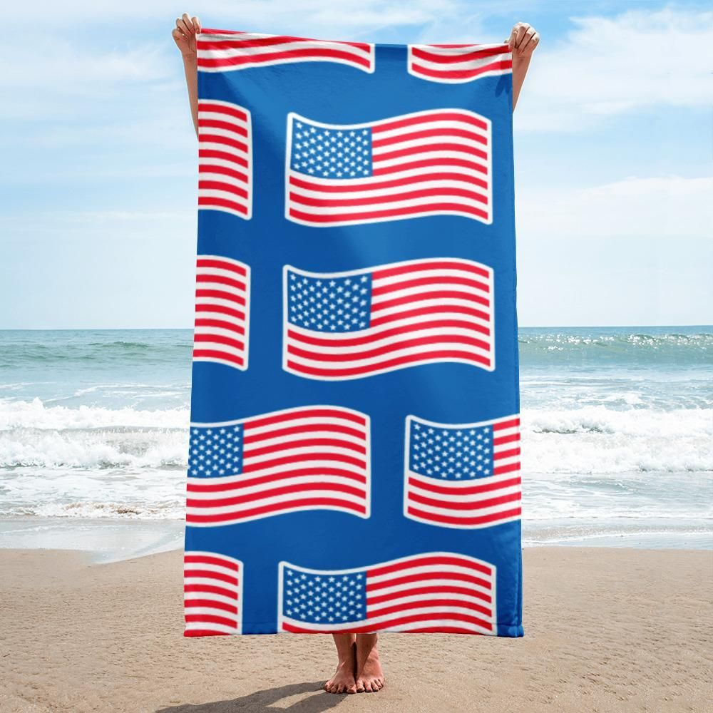 Independence Day Usa Flag Towel Towel Usa Independence Day Towel