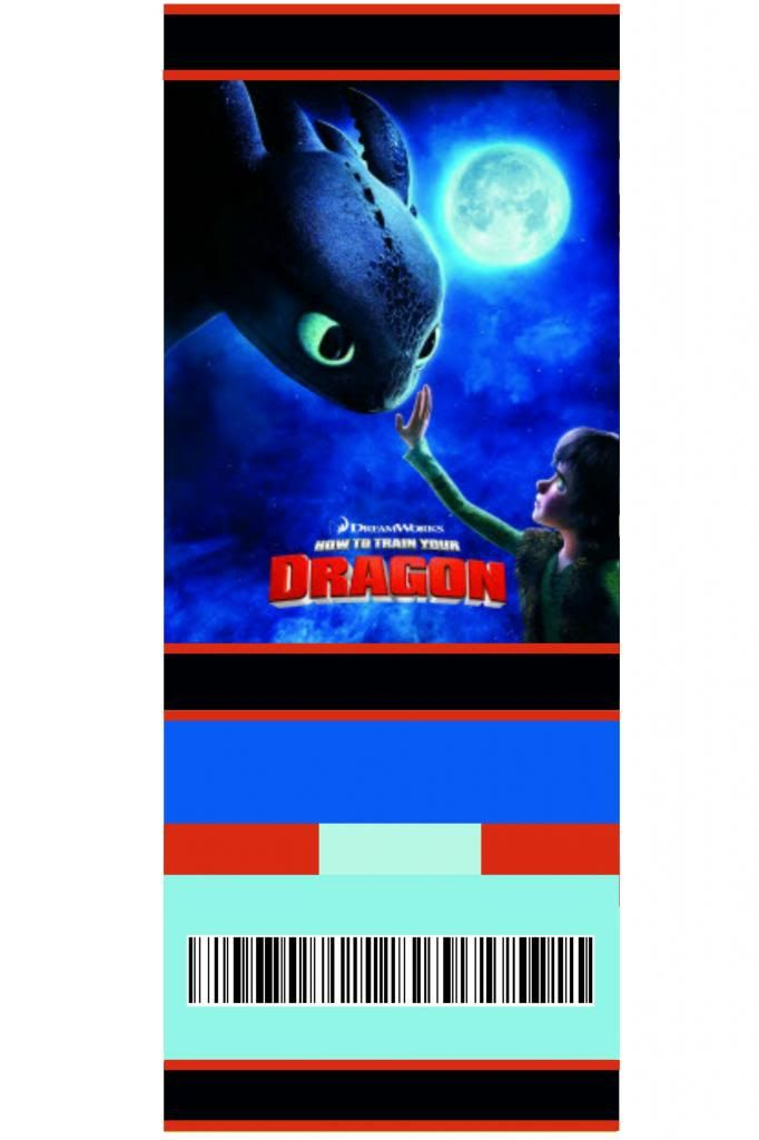 how to train your dragon free printable ticket style invitation 1 - free printable ticket style invitations