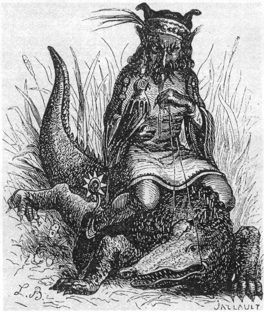 he Second Spirit is a Duke called Agreas, or Agares. He is under the Power of the East, and cometh up in the form of an old fair Man, riding upon a Crocodile, carrying a Goshawk upon his fist, and yet mild in appearance. He maketh them to run that stand still, and bringeth back runaways. He teaches all Languages or Tongues presently. He hath power also to destroy Dignities both Spiritual and Temporal, and causeth Earthquakes. He was of the Order of Virtues. He hath under his government 31…