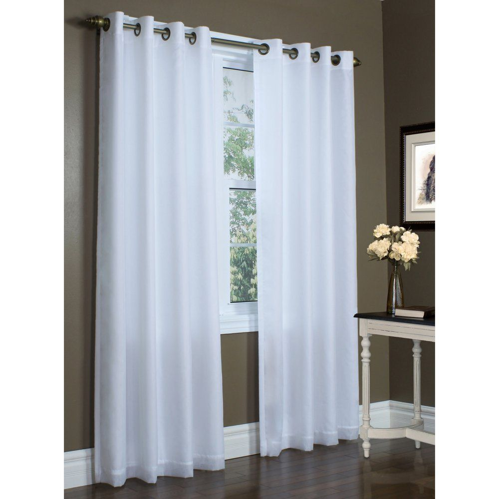 Thermalogic Sixteen Grommets Rhapsody Thermavoile Lined Curtains