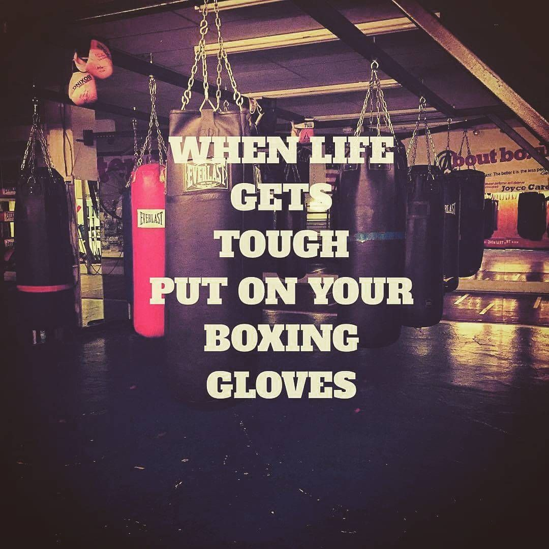 This Is My Motto Love Boxing And Punching Out My Stress Boxing Quotes Boxing Workout When Life Gets Tough