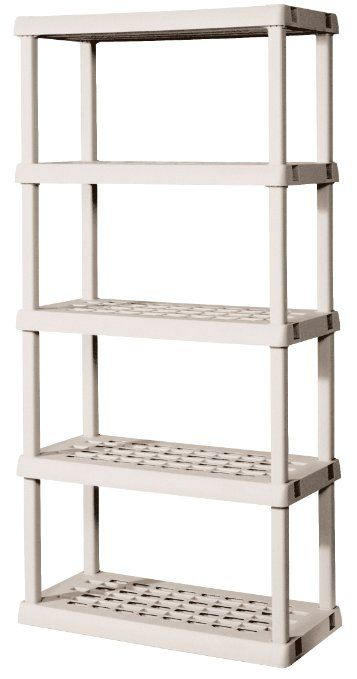 Products For Getting Organized Storage Shelves Plastic Shelves