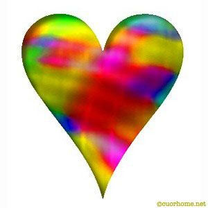 heart clip art | Colorful heart