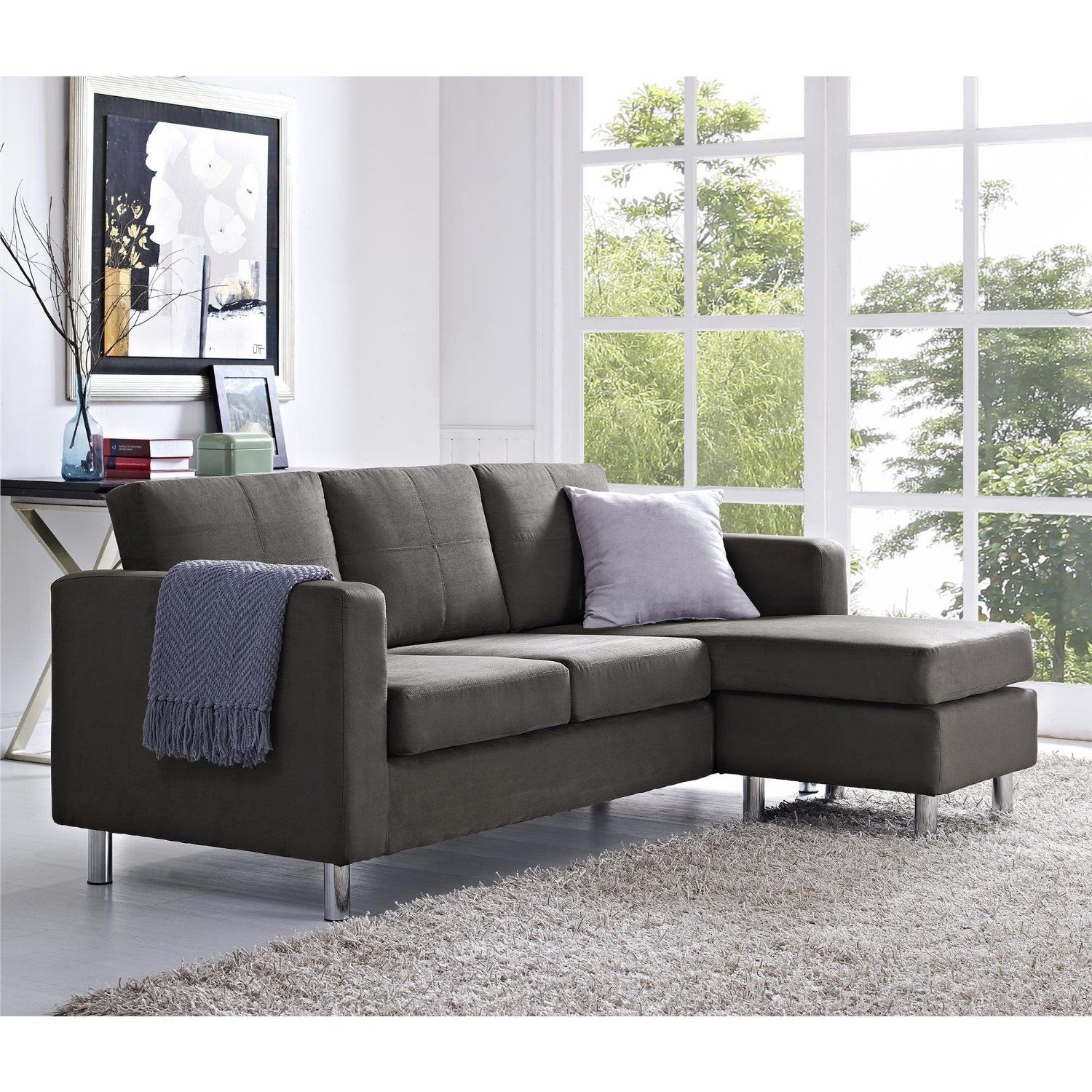 Sectional Sofa Gray Sofas For Small Spaces Small Sectional Sofa Small Space Sectional Sofa