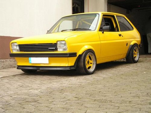 Ford Fiesta Mk1 Djwillowtrm Ford Fiesta Coches Retro Coches