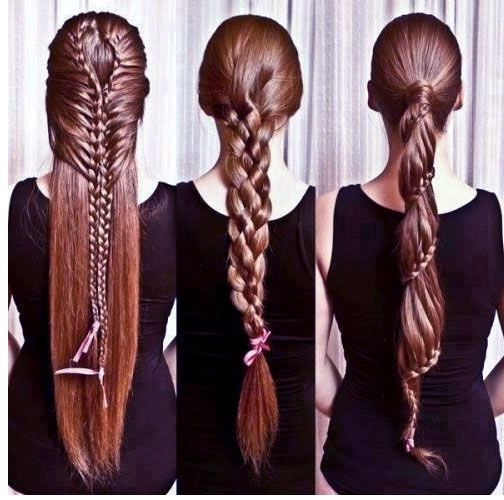 New Year Hairstyles 2014 with braids