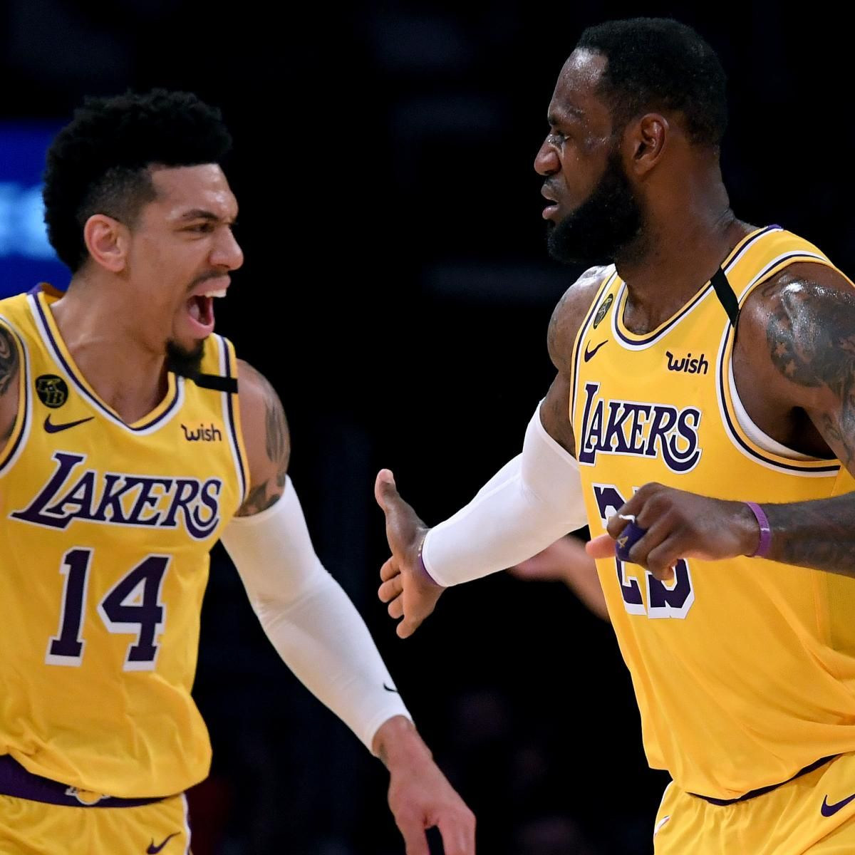 Harry How Getty Imagesif Or When The Nba Season Resumes The Los Angeles Lakers Will Be Among The Favorites To Win An Nba Ti In 2020 Kobe Bryant Lebron James Nba Funny